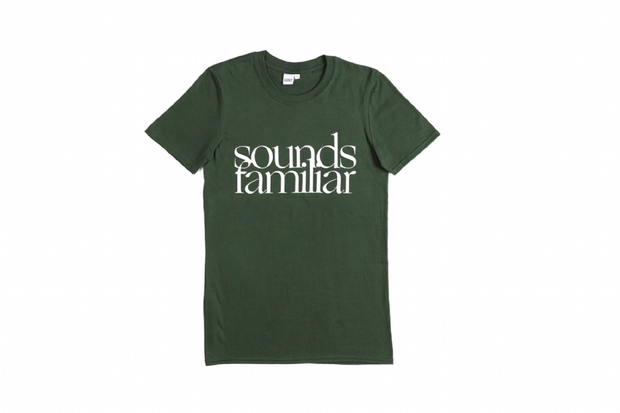SF CLASSIC LOGO TEE GREEN FOREST