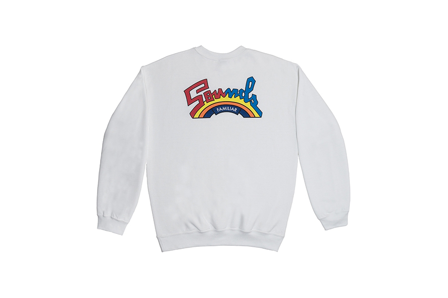 TRIBUTE TO SALSOUL  CREWNECK SWEATSHIRT  WHITE