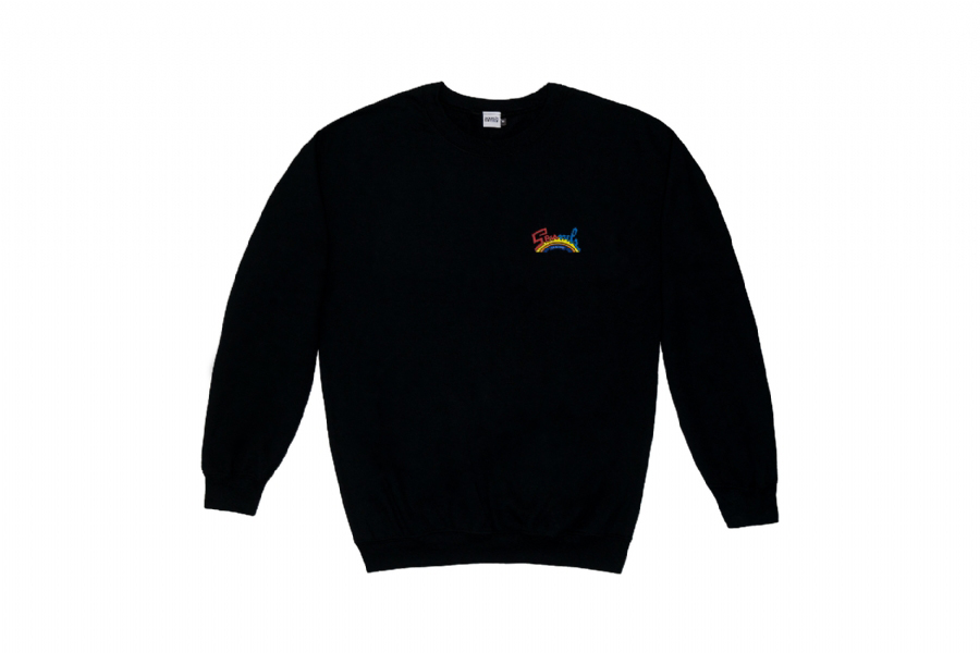 TRIBUTE TO SALSOUL CREWNECK SWEATSHIRT BLACK
