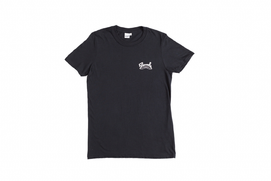 TRIBUTE TO SALSOUL ORCHESTRA BLACK TEE WHITE LOGO