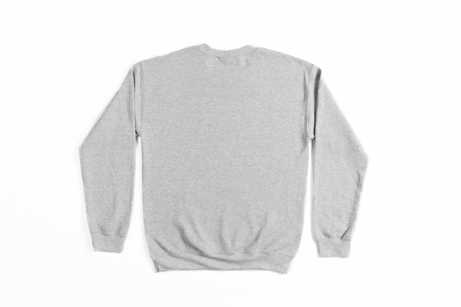 SOUNDS FAMILIAR LOGO CREWNECK  GREY