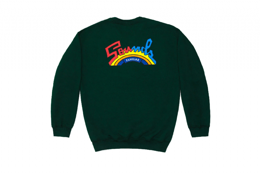 TRIBUTE TO SALSOUL CREWNECK SWEATSHIRT FOREST GREEN